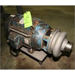 """Ampco 15 hp Centrifugal Pump, Model DCH2, with 3"""" x 2-1/2"""" Clamp Type S/S Head, Baldor Motor,"""