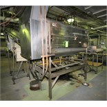 Lyco Peeler / Washer, Model 11000, S/N 110509919, with (11) Roller Positions, S/S Screw Auger, All