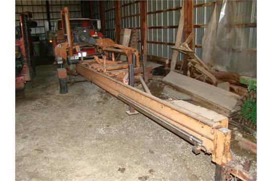 1988 portable saw mill wood mizer lt40 hd d barker onen 20hp rh bidspotter com woodmizer lt10 manual wood mizer lt40 owners manual