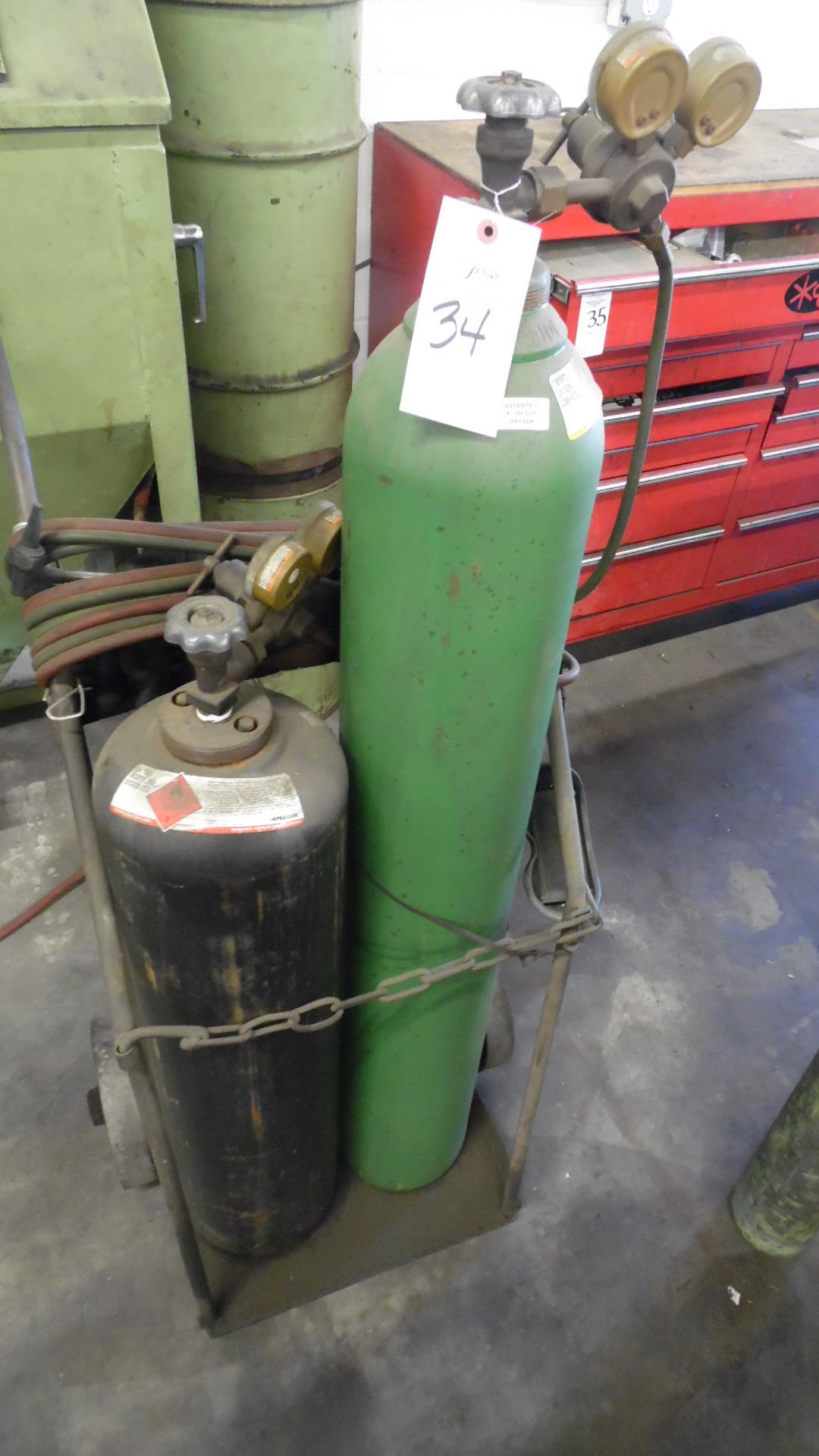 OXYACETELLENE WELDER w/ GAGES