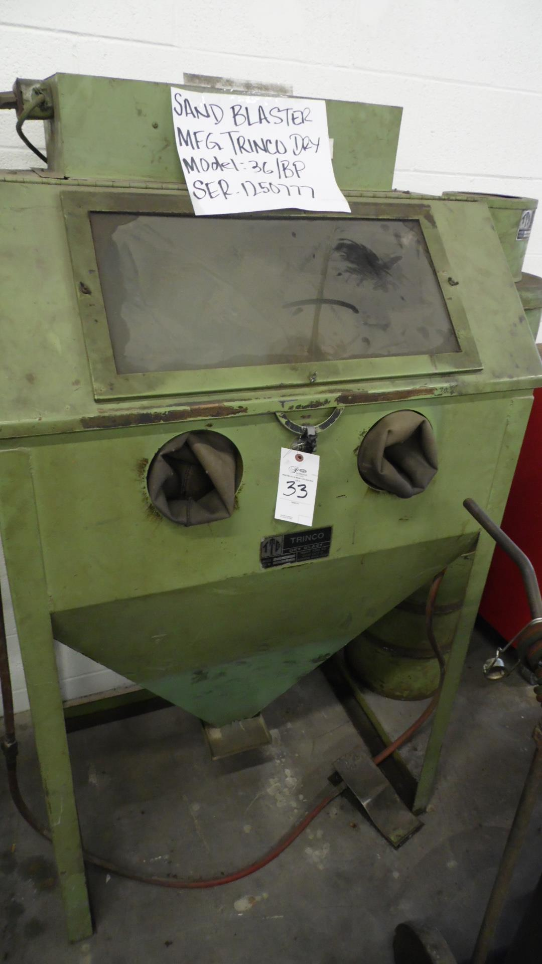 Lot 33 - TRINCO SAND BLASTER MODEL 36/BP