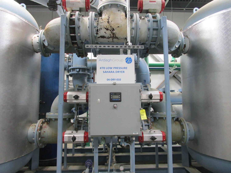 2010 Sahara SP-20000 Low Pressure Dryer, Skid Mtd. s/n 56977, (2) Tanks, MWAP 150 P | Rig Fee: $6500 - Image 2 of 14