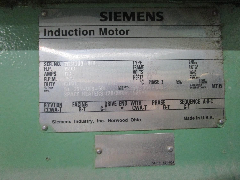 2010 Cameron 1,500 HP Low Pressure Compressor, Turbo-Air 9000 s/n 16900, True Oil F | Rig Fee: $4000 - Image 11 of 13