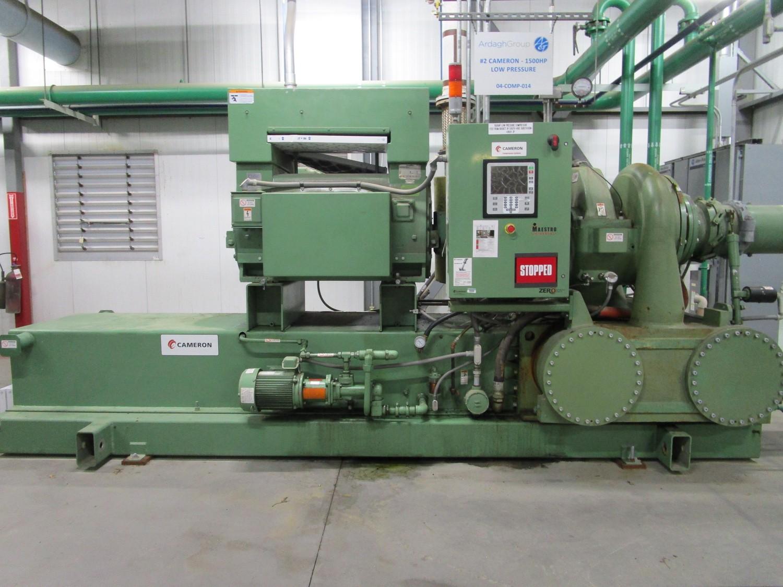 2010 Cameron 1,500 HP Low Pressure Compressor, Turbo-Air 9000 s/n 16900, True Oil F | Rig Fee: $4000