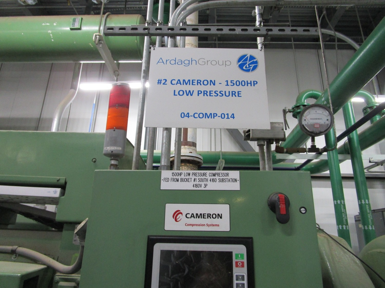 2010 Cameron 1,500 HP Low Pressure Compressor, Turbo-Air 9000 s/n 16900, True Oil F | Rig Fee: $4000 - Image 13 of 13