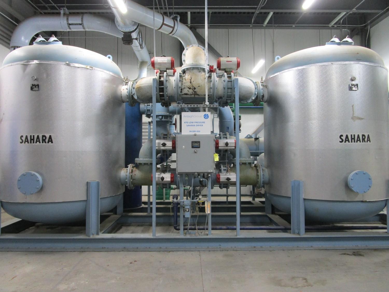 2010 Sahara SP-20000 Low Pressure Dryer, Skid Mtd. s/n 56977, (2) Tanks, MWAP 150 P | Rig Fee: $6500