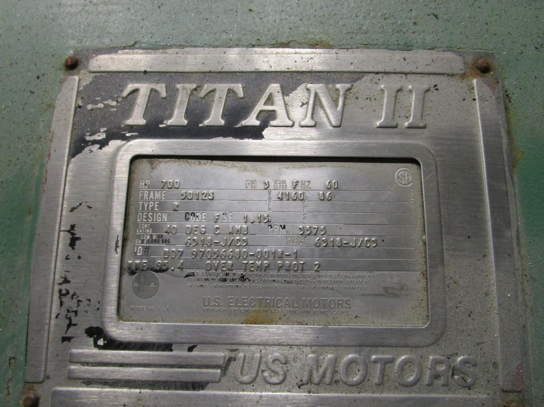 Joy TAQ-30M2PH 700HP Low Pressure Compressor s/n BF5852, Digital Control, US Motors   Rig Fee: $3500 - Image 7 of 8