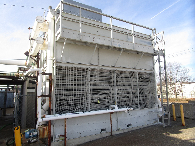 Baltimore FXV-662 Water Tower s/n U040080301, Belt # 3R-B100, (2) US Motors 7.5 HP | Contact Rigger - Image 2 of 5