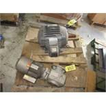 LOT NEMA 15HP Motor, Sew-Eurodrive 1.5HP Drive | Rig Fee: $25
