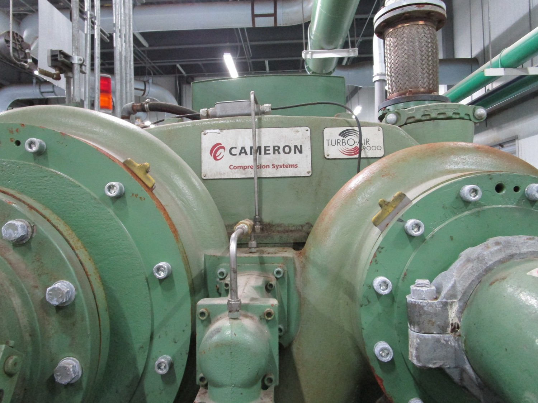 2010 Cameron 1,500 HP Low Pressure Compressor, Turbo-Air 9000 s/n 16900, True Oil F | Rig Fee: $4000 - Image 8 of 13