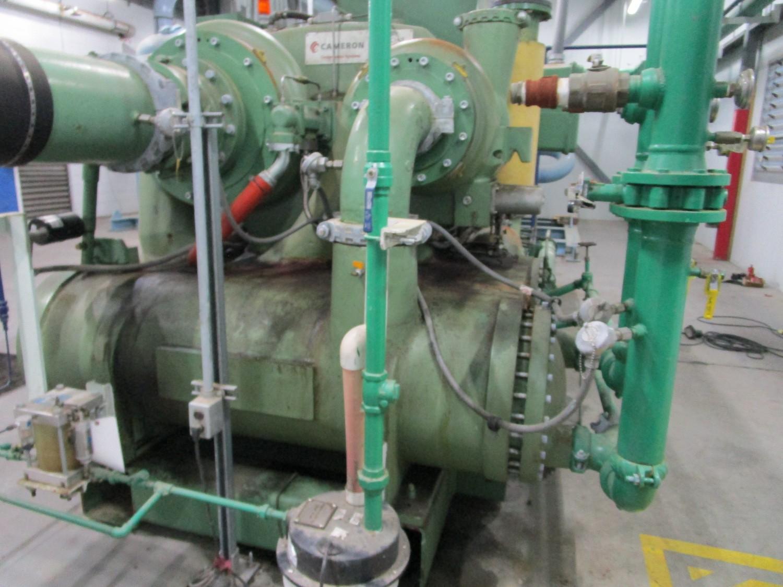 2010 Cameron 1,500 HP Low Pressure Compressor, Turbo-Air 9000 s/n 16900, True Oil F | Rig Fee: $4000 - Image 7 of 13