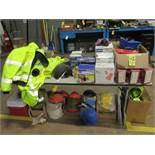 LOT Assorted Respirators, Hard Hats, Caution Tape, Safety Vest & Safety Equipme | Rig Fee: $50 or HC
