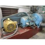 Ingersoll Rand 22 x 7-ESH-VP 50HP Vacuum Pump, Baldor 50HP Motor, 1,775 RPM, 230/46 | Rig Fee: $1500