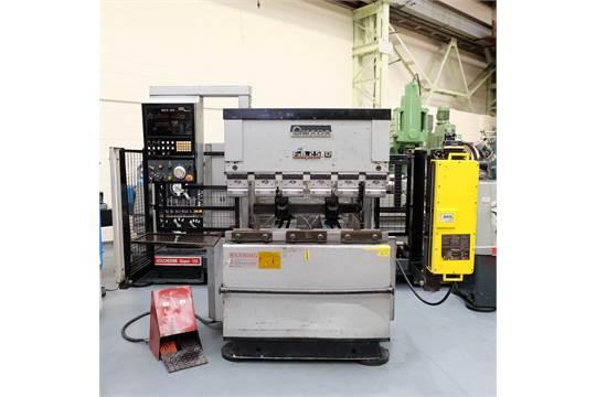 An Amada Type FBD2512E Upstroking Press Brake  Capacity 1250mm x 25
