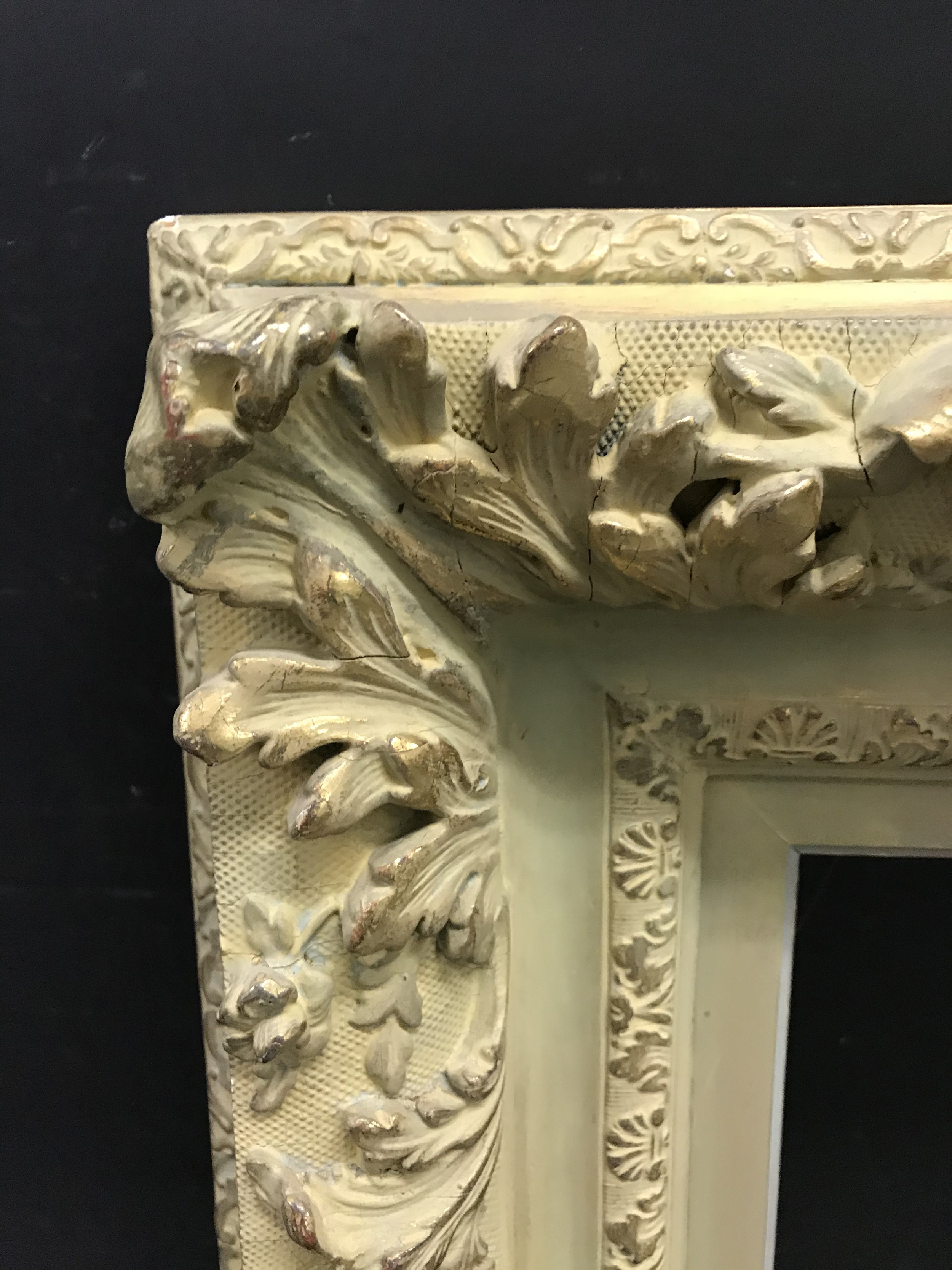 """Lot 8 - 19th Century English School. A Painted Barbizon Style Composition Frame, 21.75"""" x 15"""" (rebate)."""