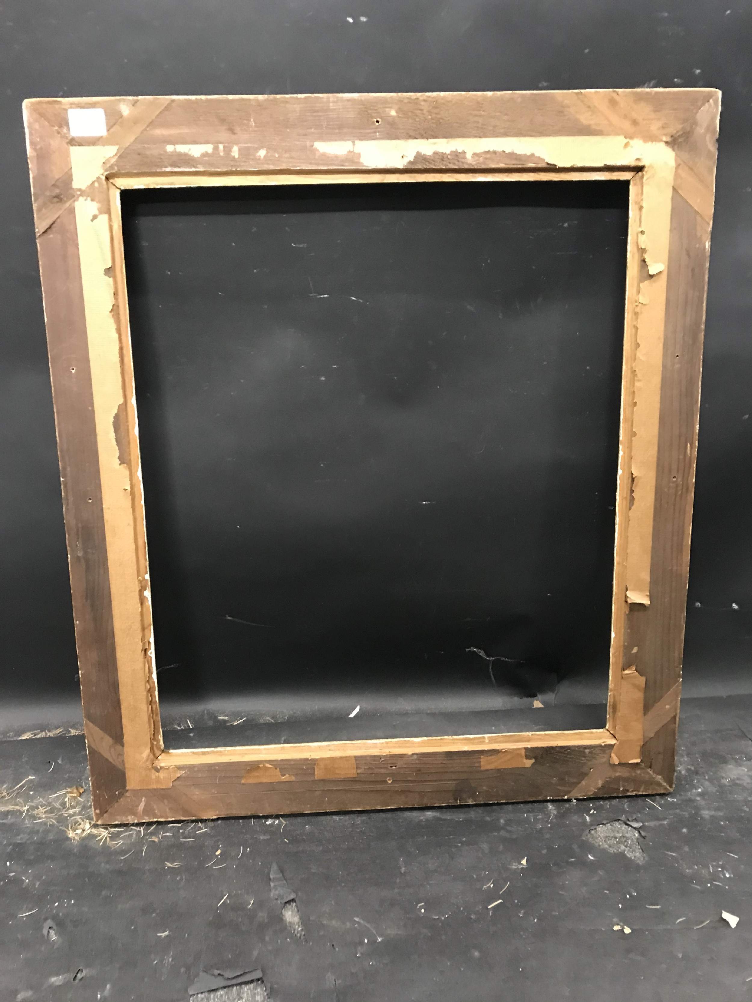 """Lot 39 - 20th Century French School. A Painted Composition Frame, 23.75"""" x 20"""" (rebate)."""