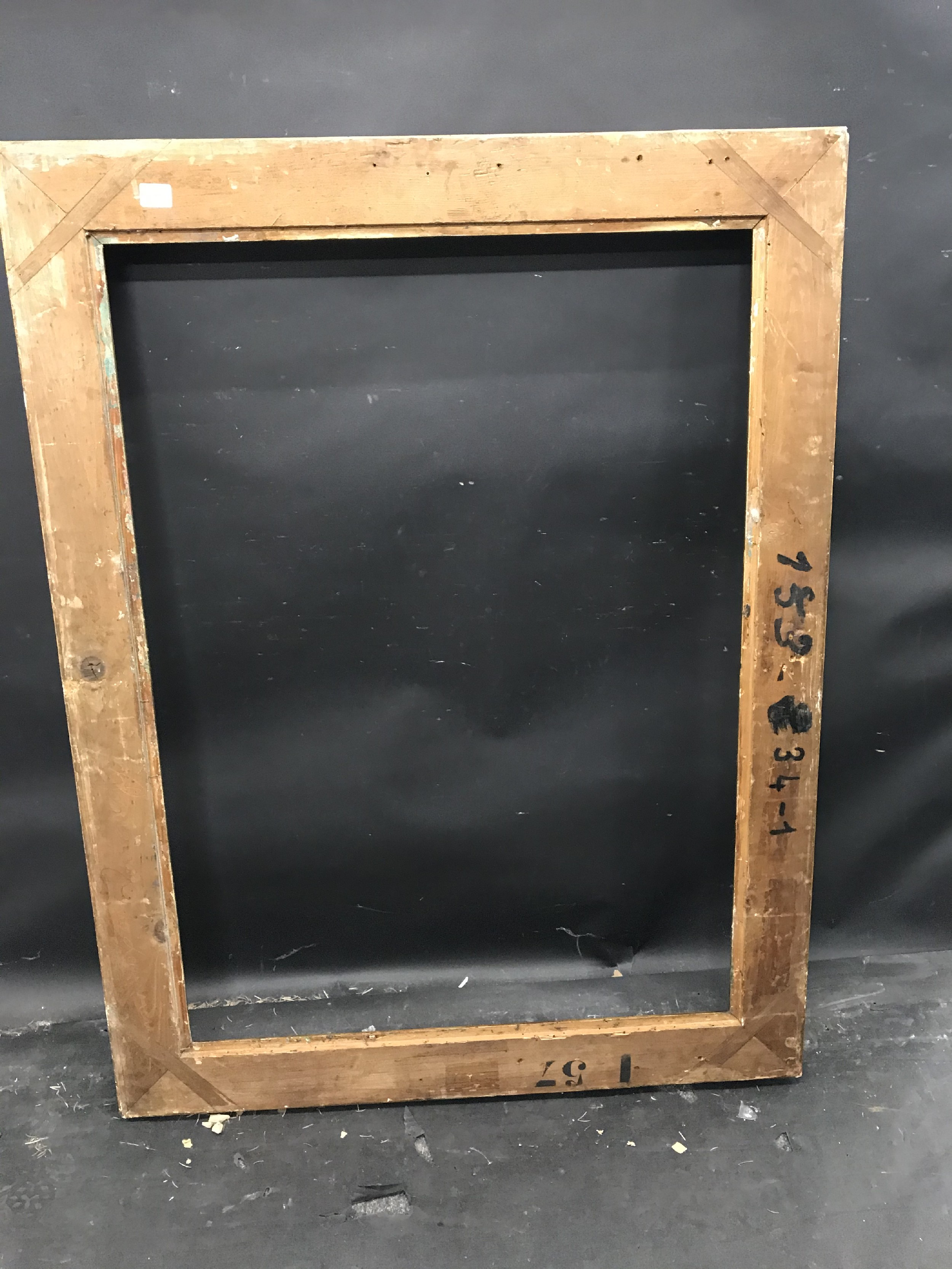 """Lot 20 - 20th Century French School. A Gilt Composition Frame, with swept corners, 39.5"""" x 28.5"""" (rebate)."""
