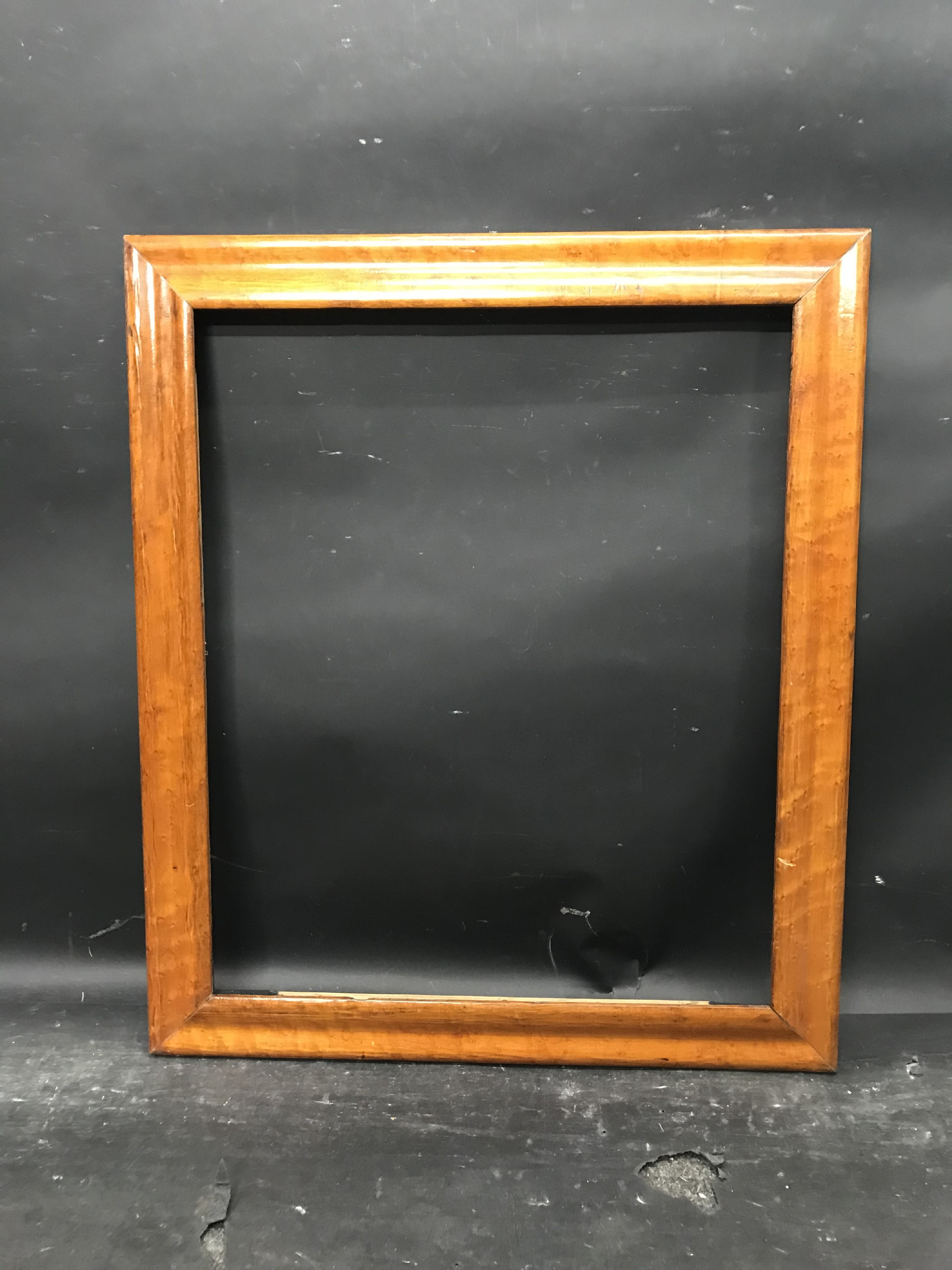 "Lot 27 - 19th Century English School. A Maple Frame, 24"" x 20"" (rebate)."