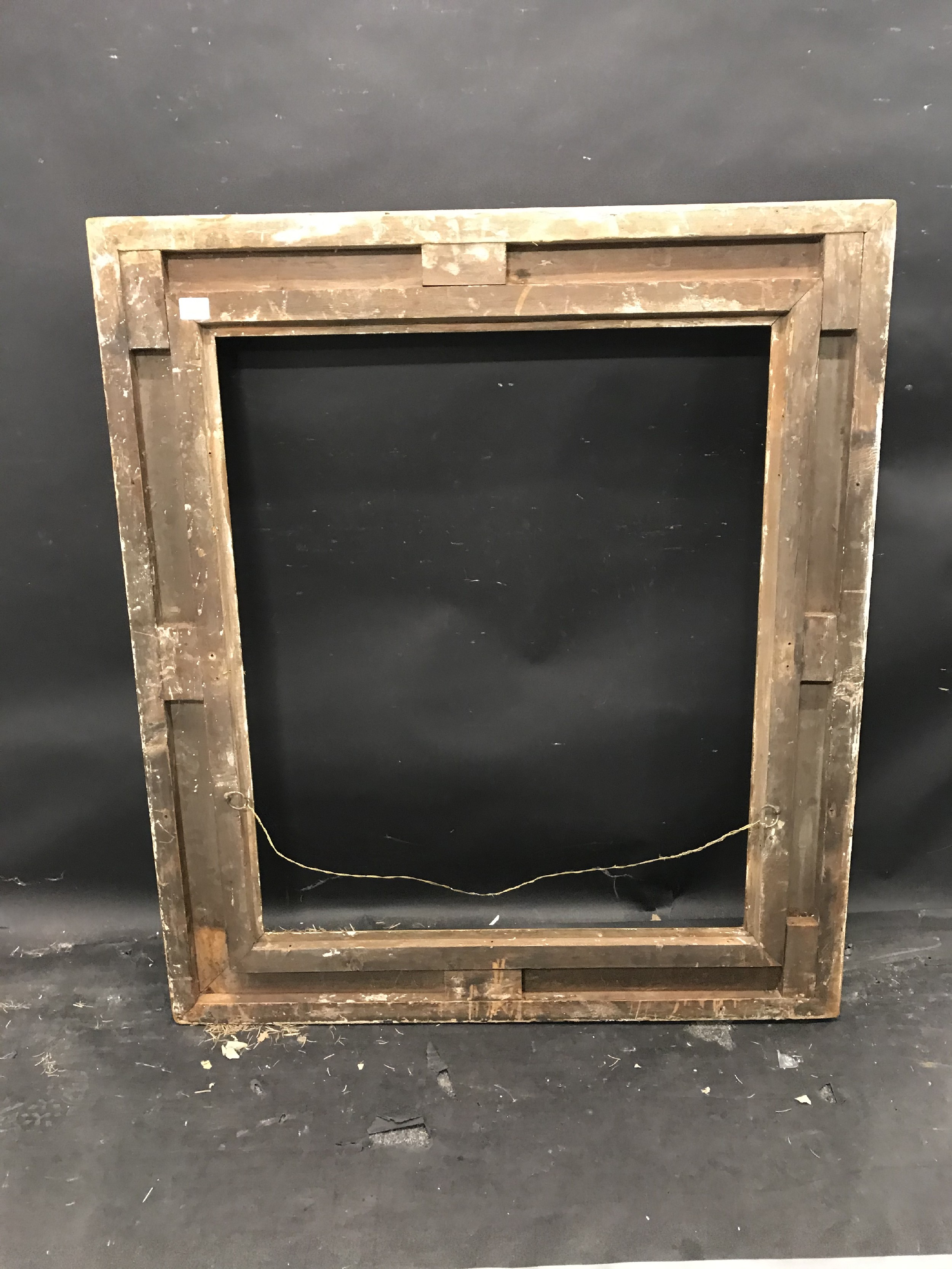 """Lot 43 - 19th Century English School. A Gilt Composition Frame, with swept centres and corners, 29.5"""" x 24.5"""""""
