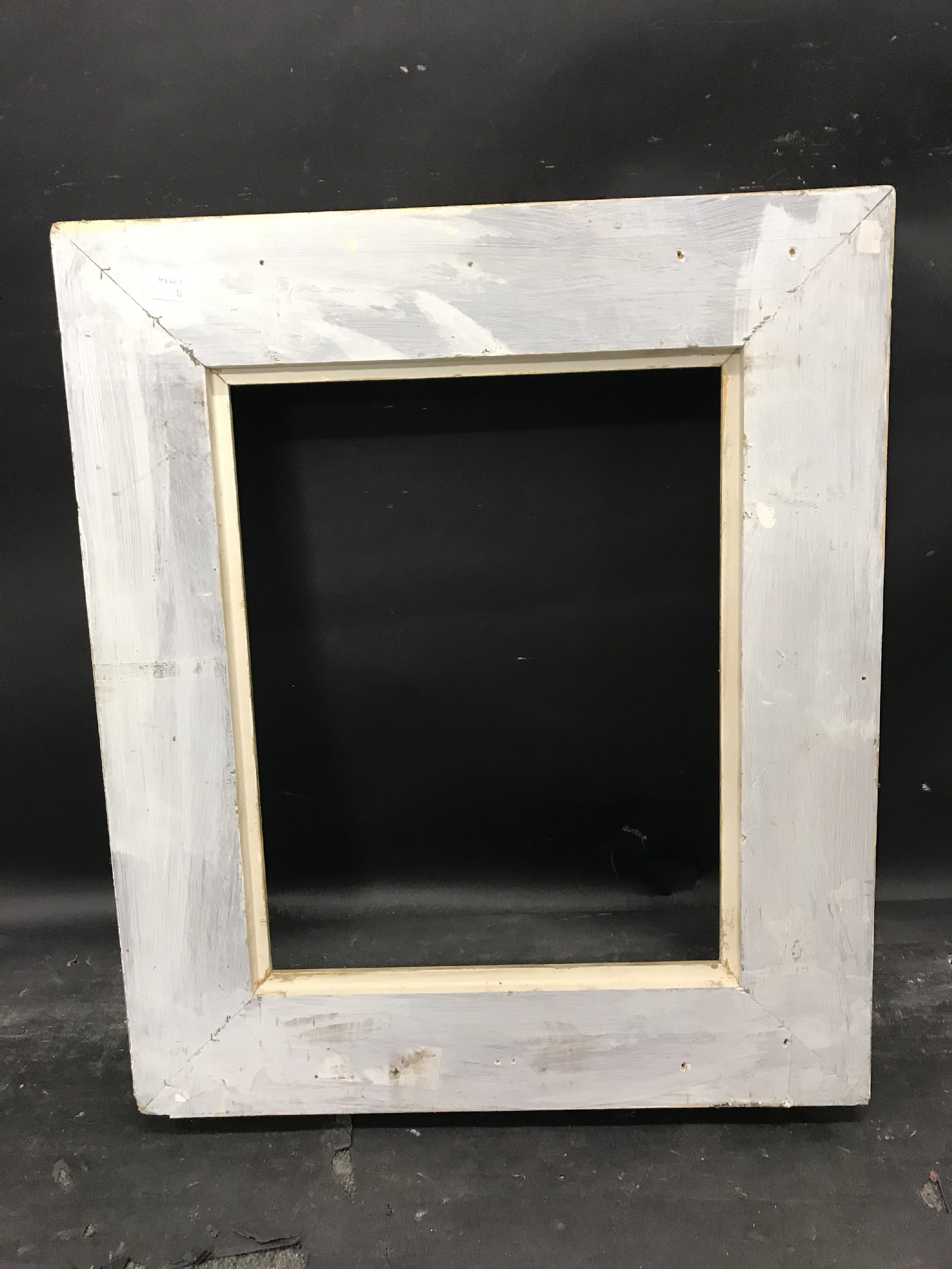 """Lot 9 - 20th Century English School. A Painted Frame, with swept centres and corners, 19.5"""" x 15.25"""" ("""
