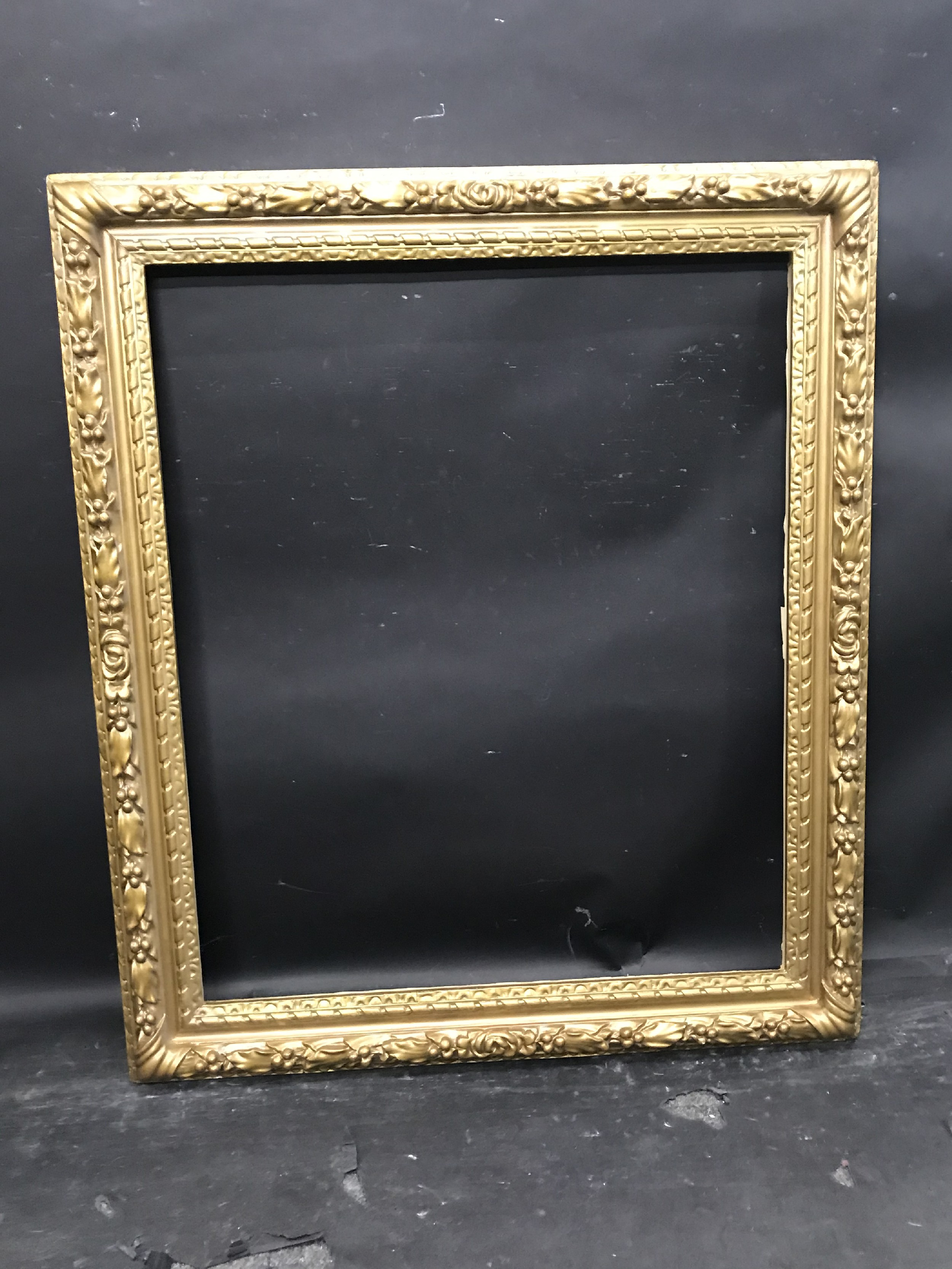 "Lot 50 - 19th Century English School. A Gilt Frame, 30"" x 25"" (rebate)."