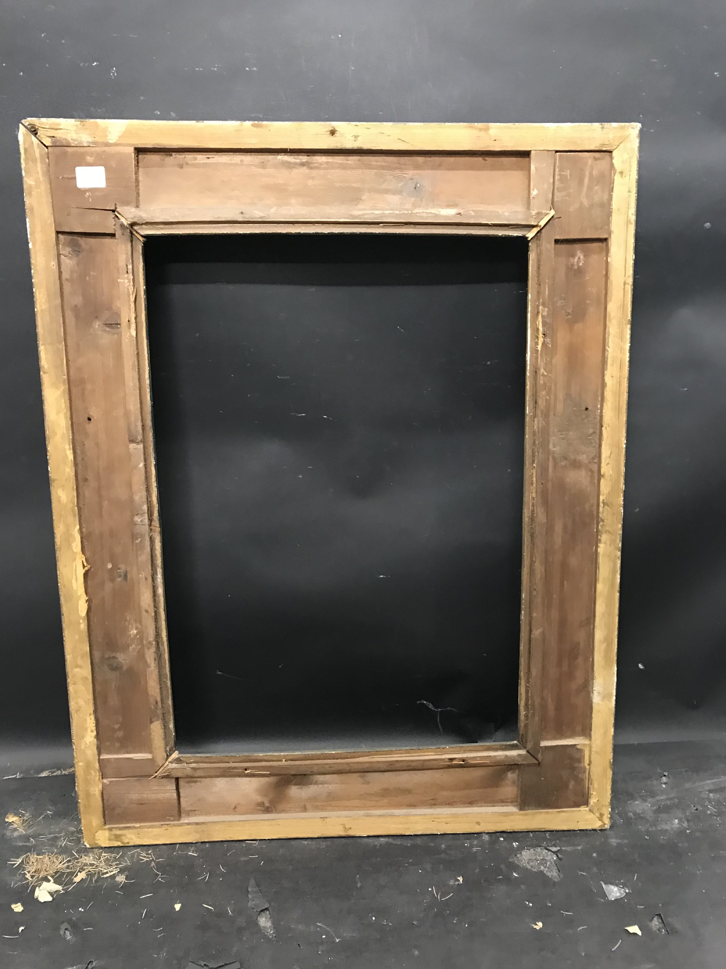 """Lot 46 - 19th Century French School. A Barbizon style Gilt Composition Frame, 26"""" x 18.25"""" (rebate)."""