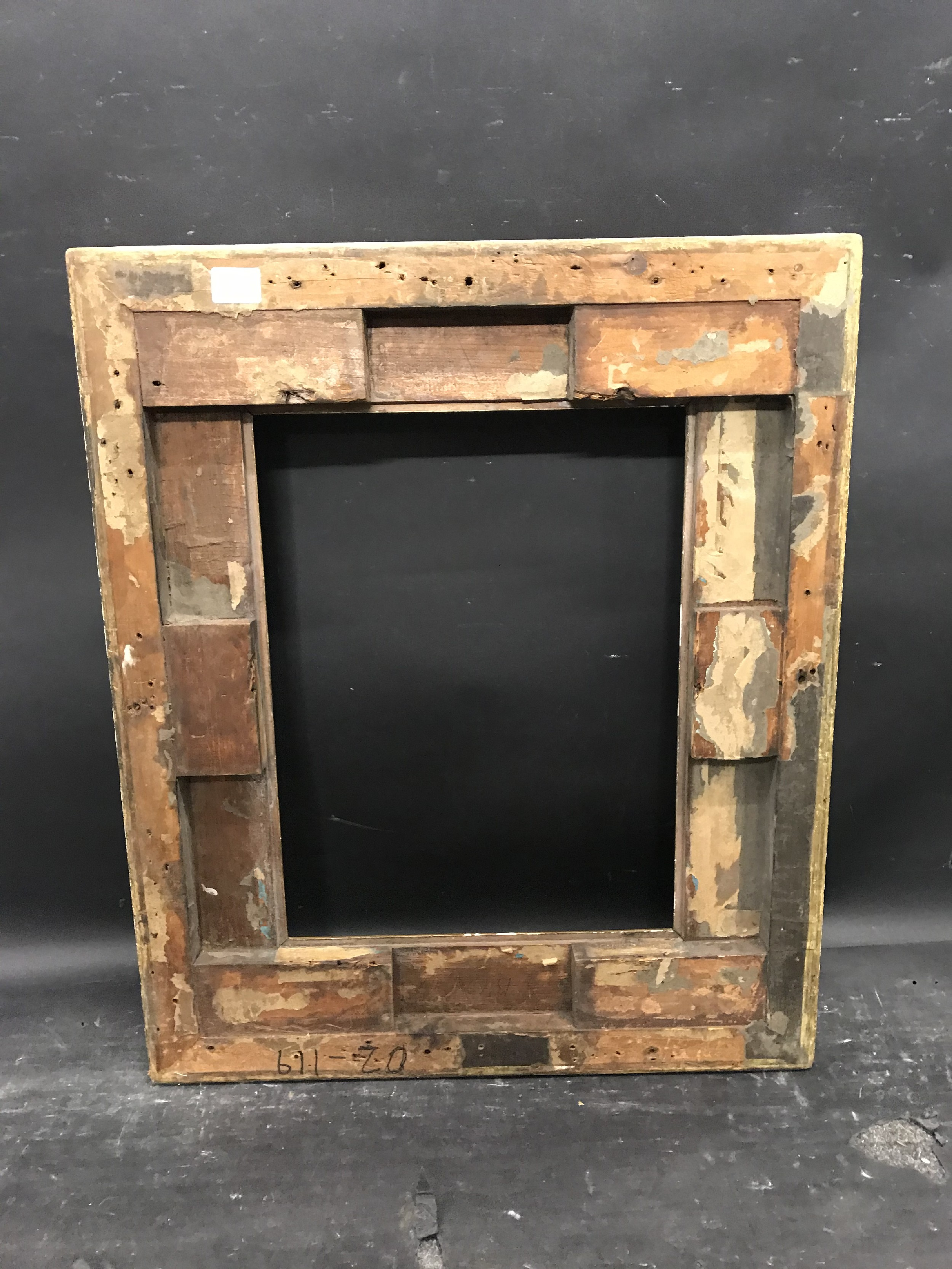 """Lot 32 - 19th Century English School. A Gilt Composition Frame, 16.5"""" x 12.5"""" (rebate), and another Gilt"""