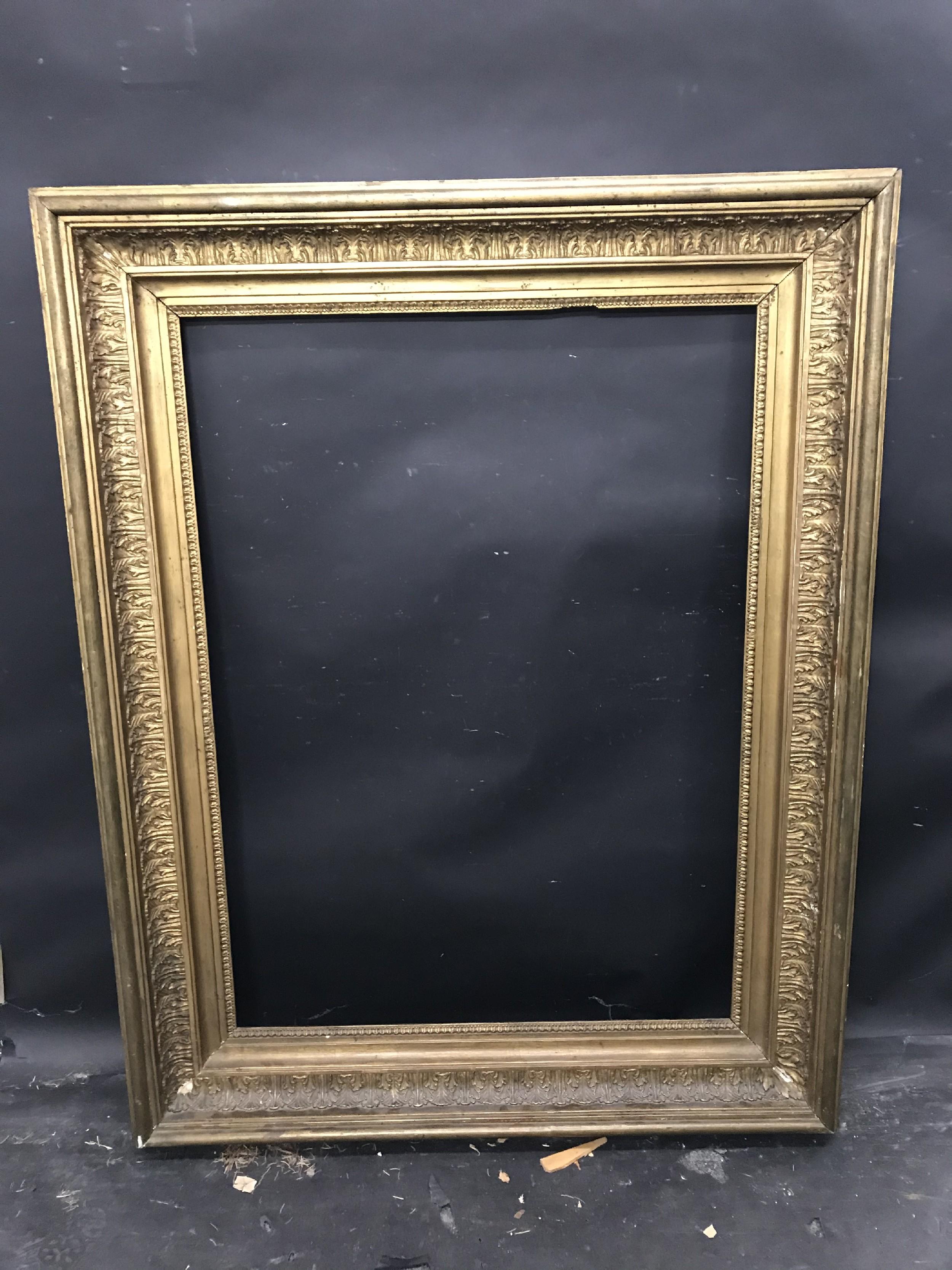 "Lot 22 - 19th Century English School. A Gilt Composition Frame, 39"" x 28"" (rebate)."