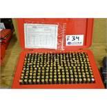 Shars M2 Pin Gage Set .251-.500 Class ZZ Tolerance Complete