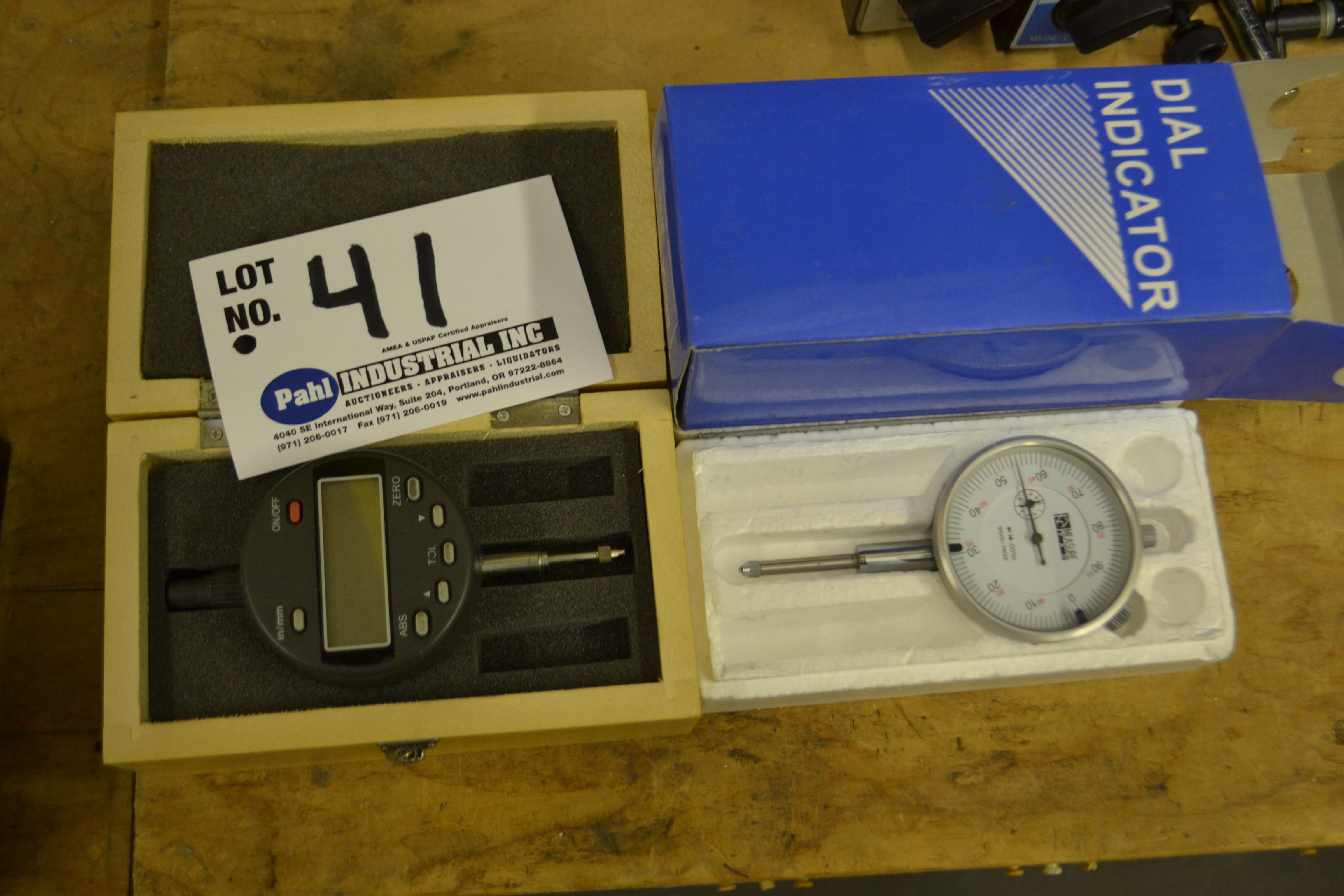 Electronic Digital Indicator and Dial Indicator
