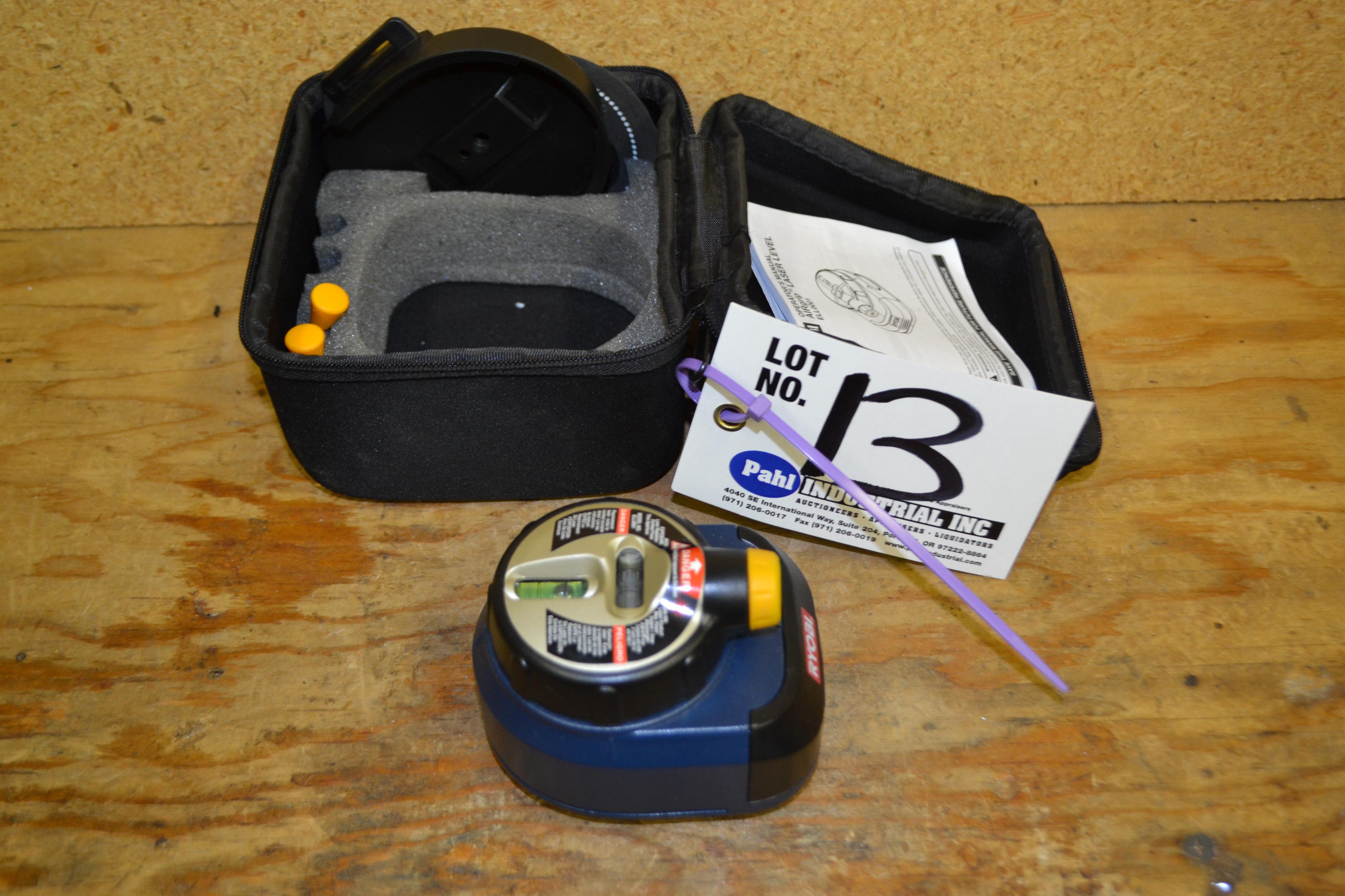 Ryobi ELL0001 Airgrip Laser Level