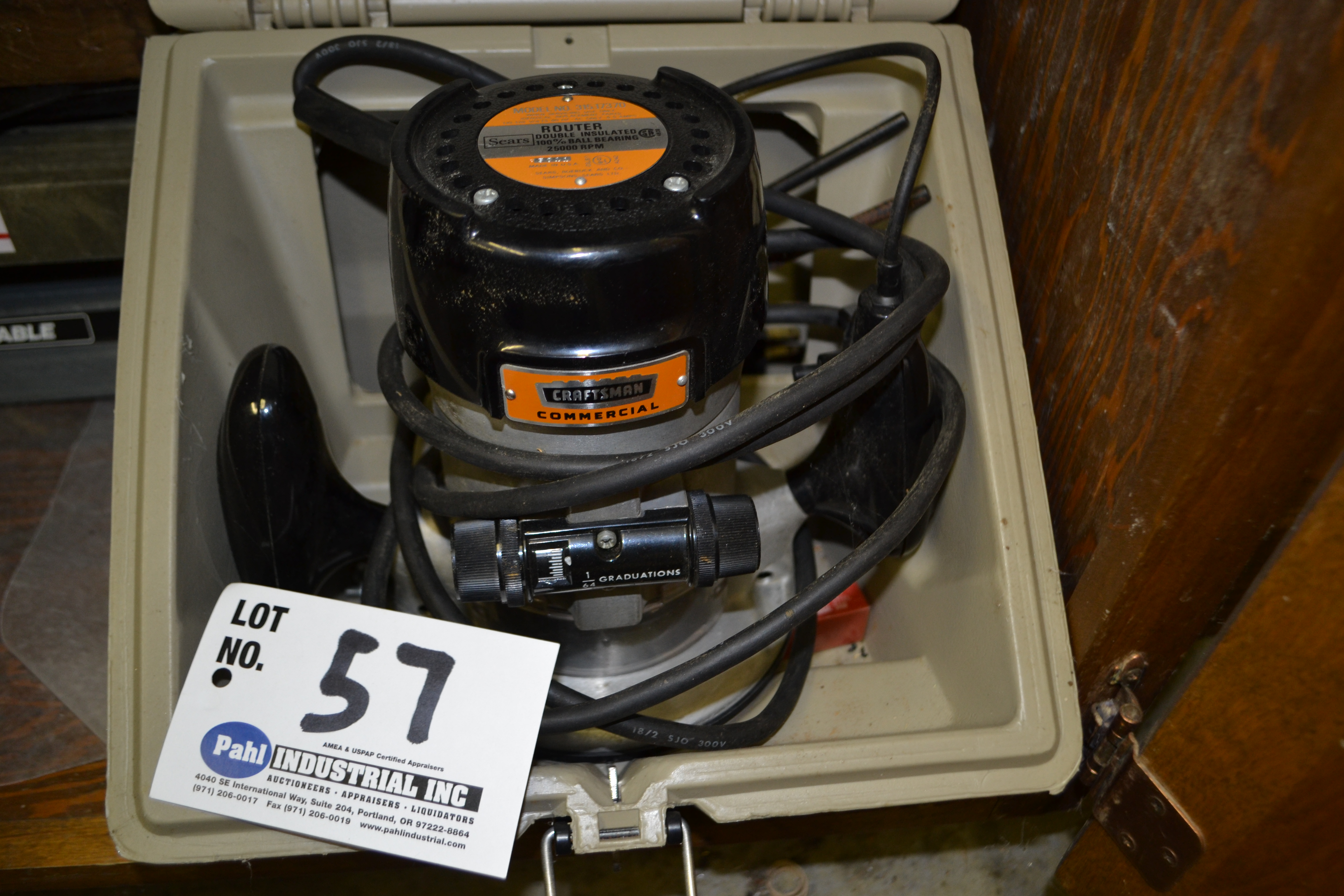 Craftsman Model 315.17370 Router 25,000 Rpm - Image 2 of 2