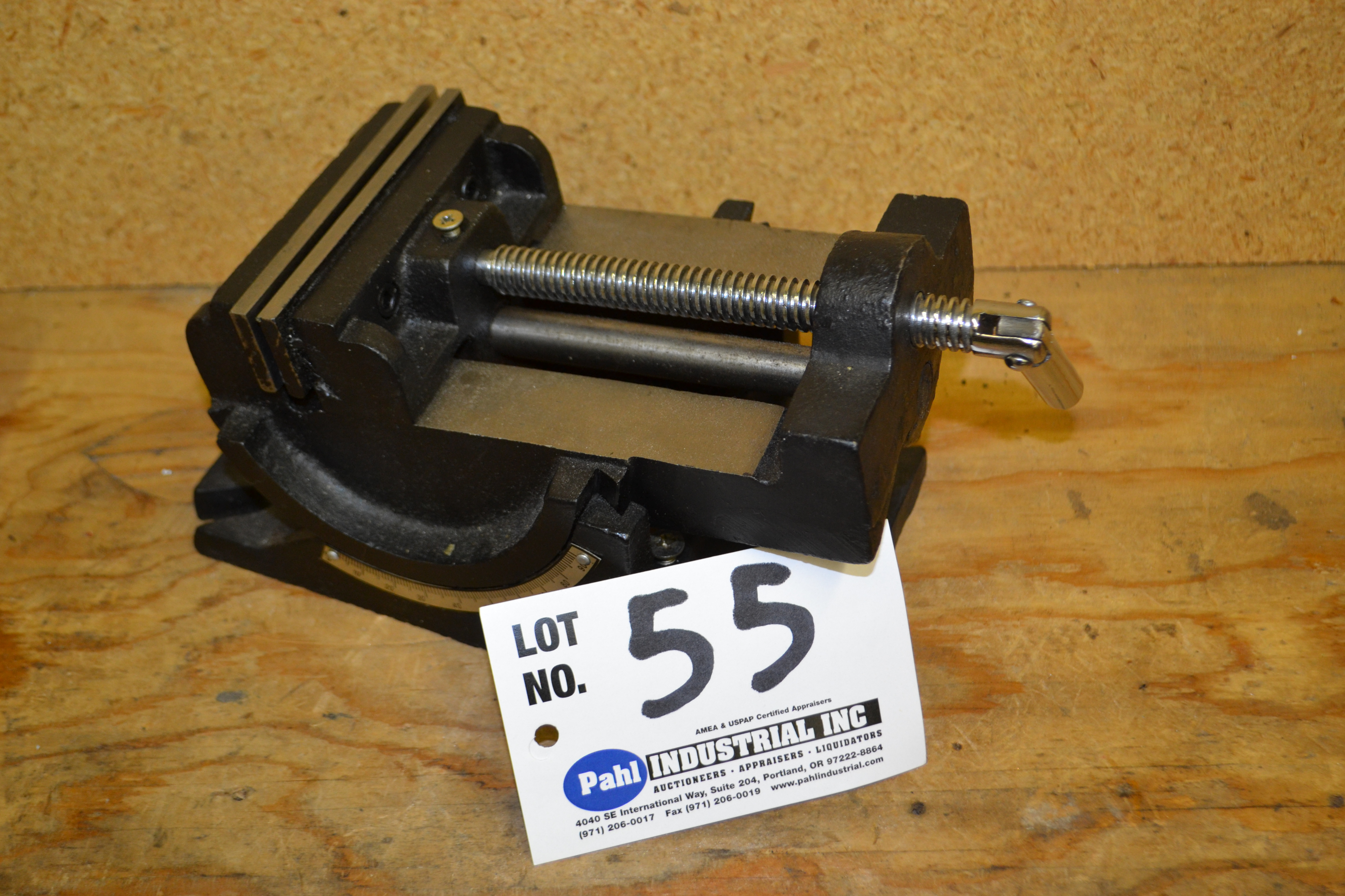 4'' Adjustable Angle Drill Press Vise