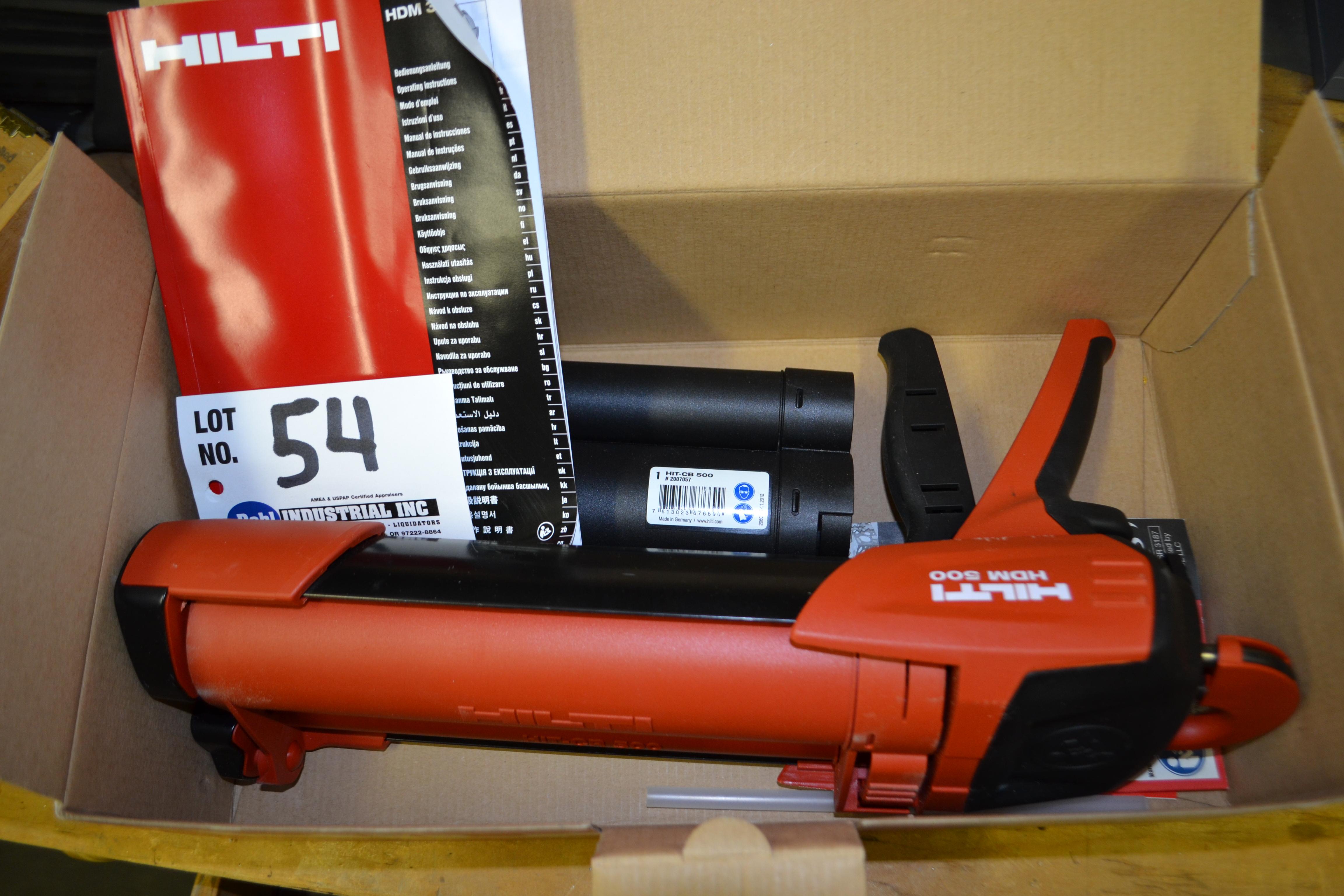 Hilti HDM500 Manual Dispenser