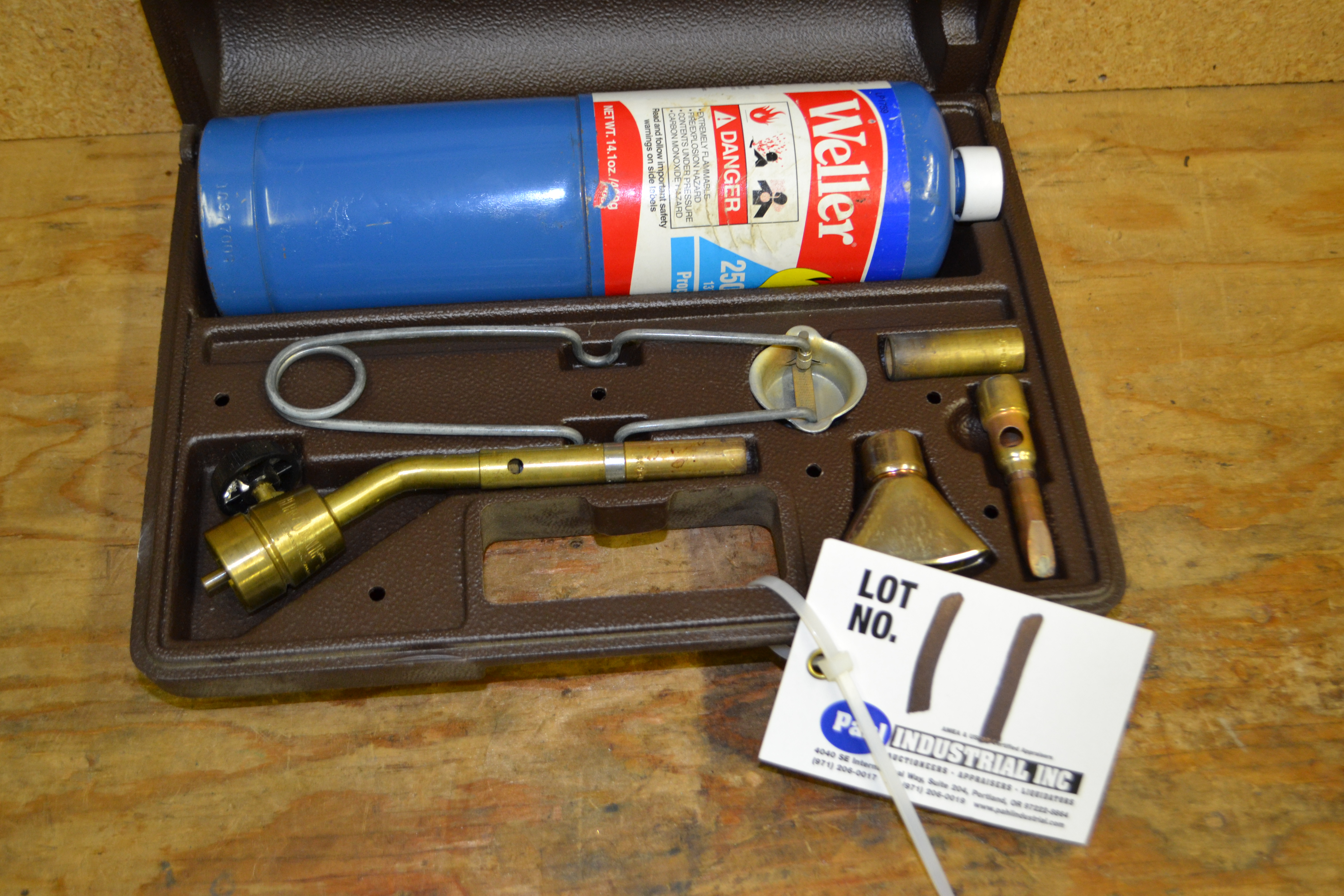 Weller Propane mini-torch with tips