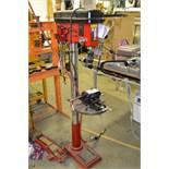 Oregon Pacific CH-18F Drill Press 110V c/w 4'' Adjustable Drill Press Vise