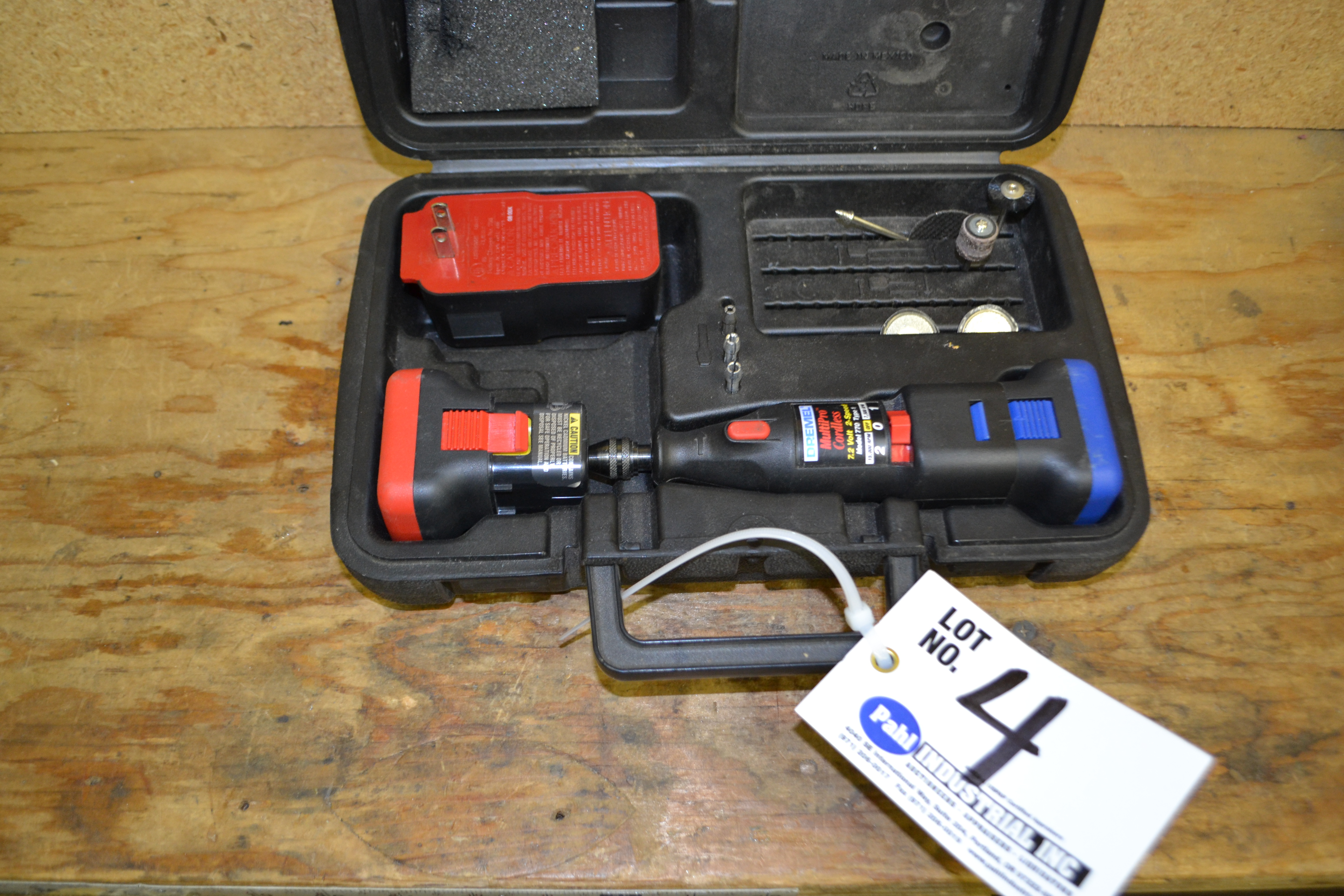 Dremel Multipro Cordless 7.2V 2spd Model 770 Type 1 c/w 2 Batteries and Charger
