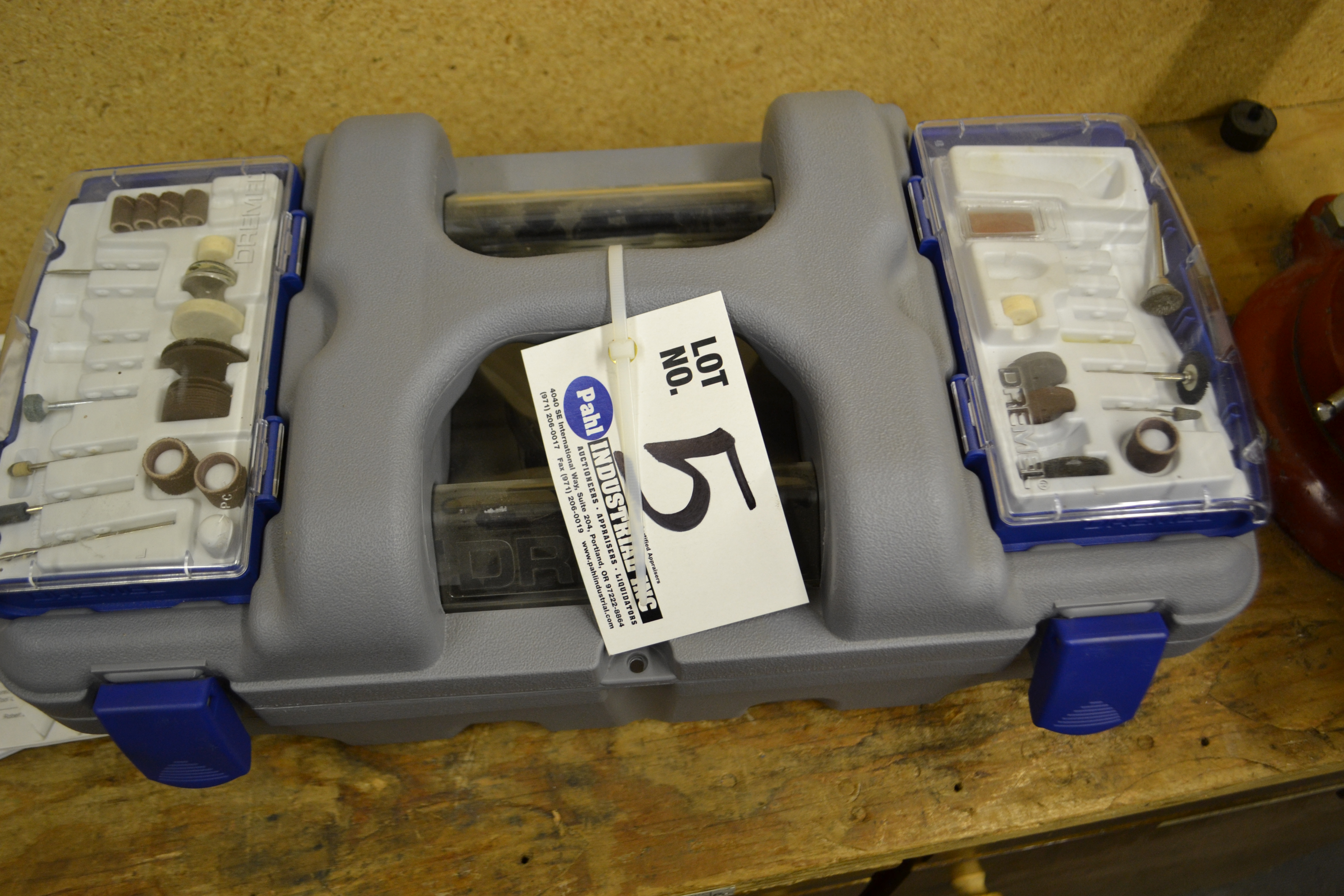 Dremel 400 Series XPR High Performance Rotary Tool c/w Box and Attachments - Image 2 of 2