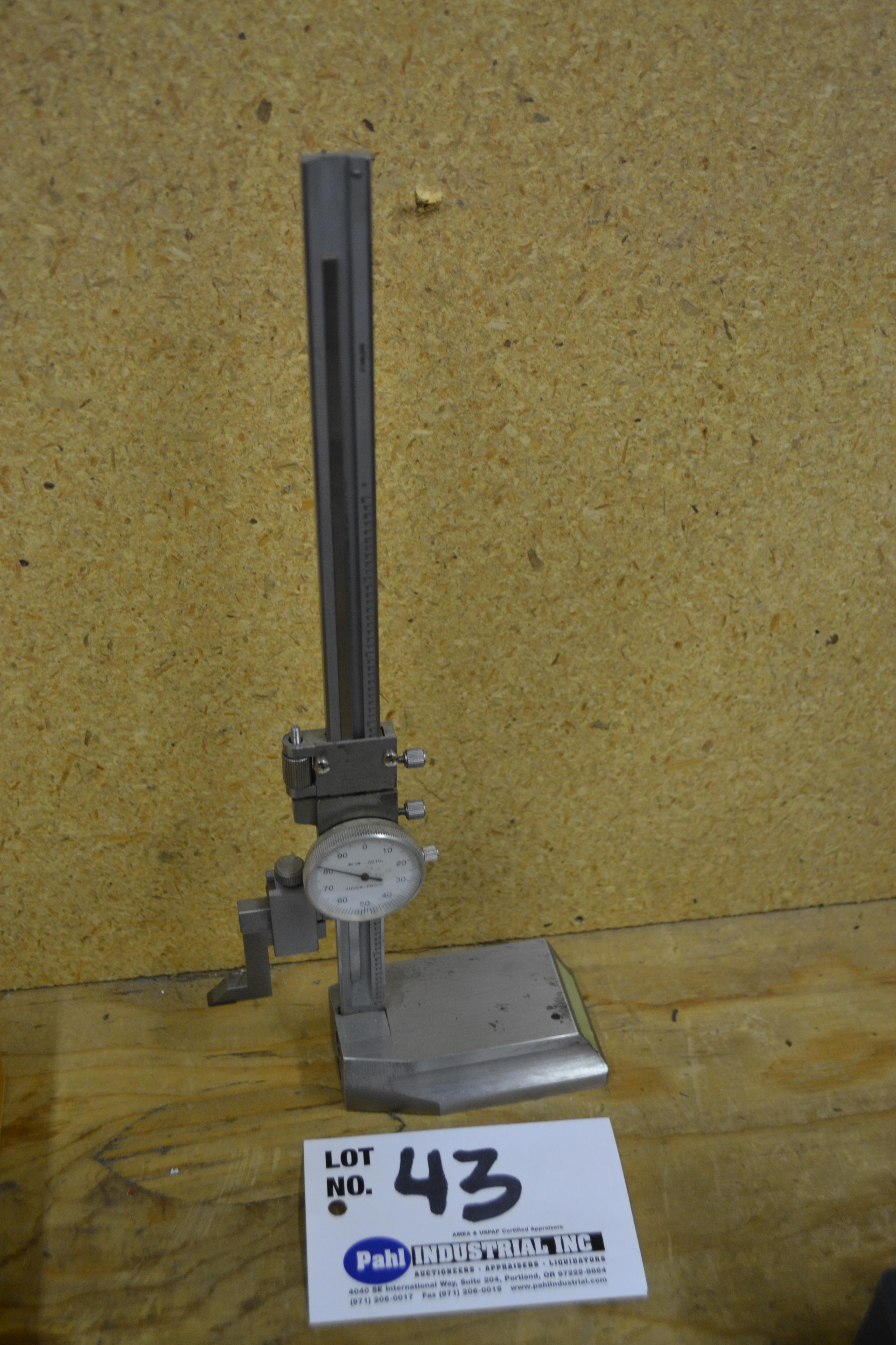 """8"""" Stainless Height Gauge"""