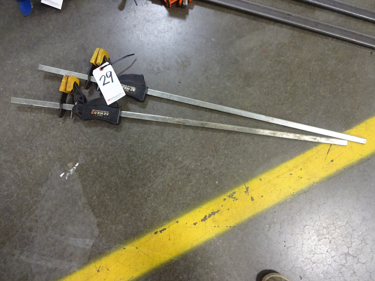 Lot 29 - LOT: (2) Jorgensen E-Z Hold II Bar Clamp & Spreading Clamps