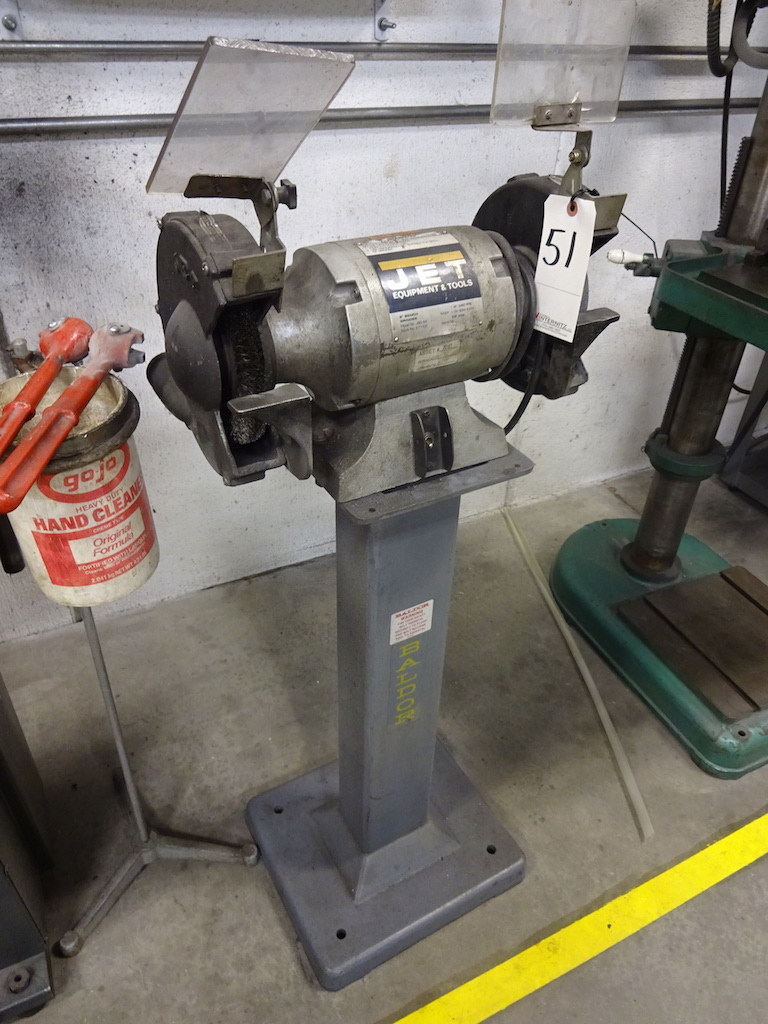 Lot 51 - Jet 8 in. Model JBG-8A Double End Bench Grinder, S/N 3091588