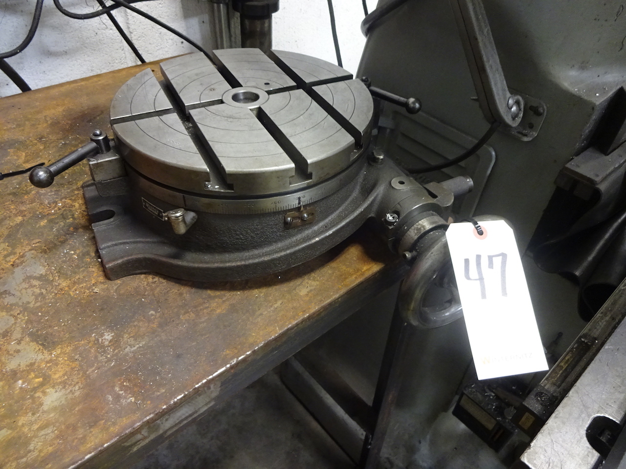 Lot 47 - Burton 12 in. Rotary Table