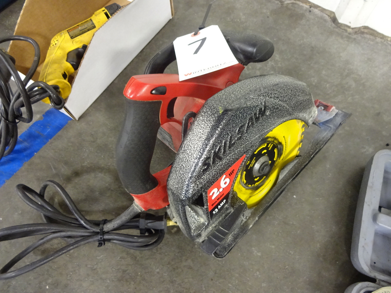 Lot 7 - Skilsaw 2.6 HP Circular Saw