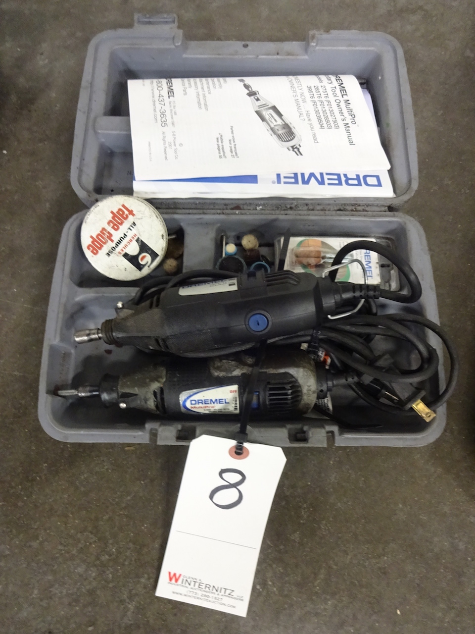 Lot 8 - LOT: (2) Dremel Rotary Tools