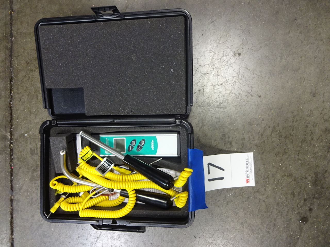 Lot 17 - Plastic Process Equipment Series 39668 Thermocouple Thermometer