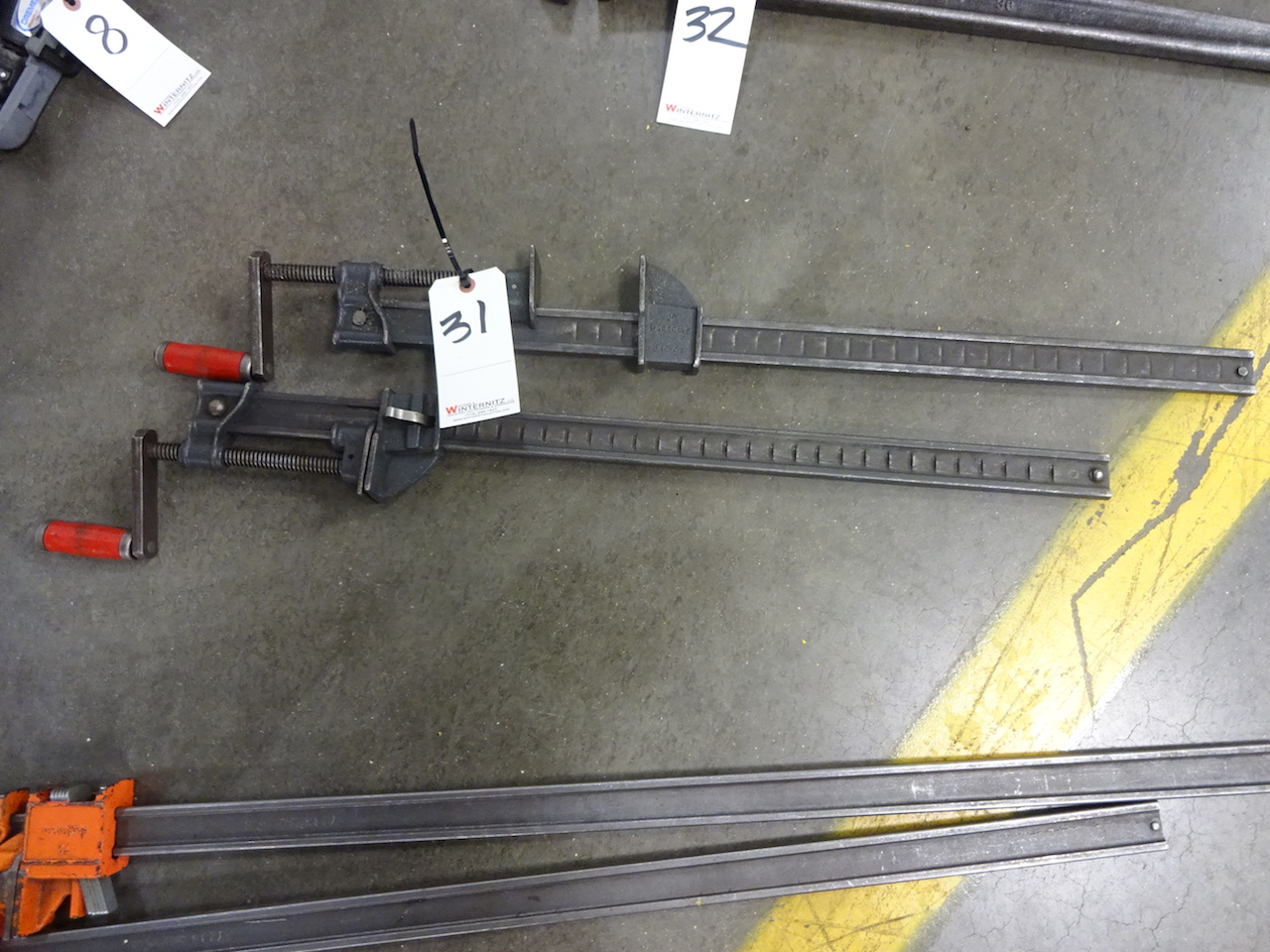 Lot 31 - LOT: (2) 24 in. Bar Clamps