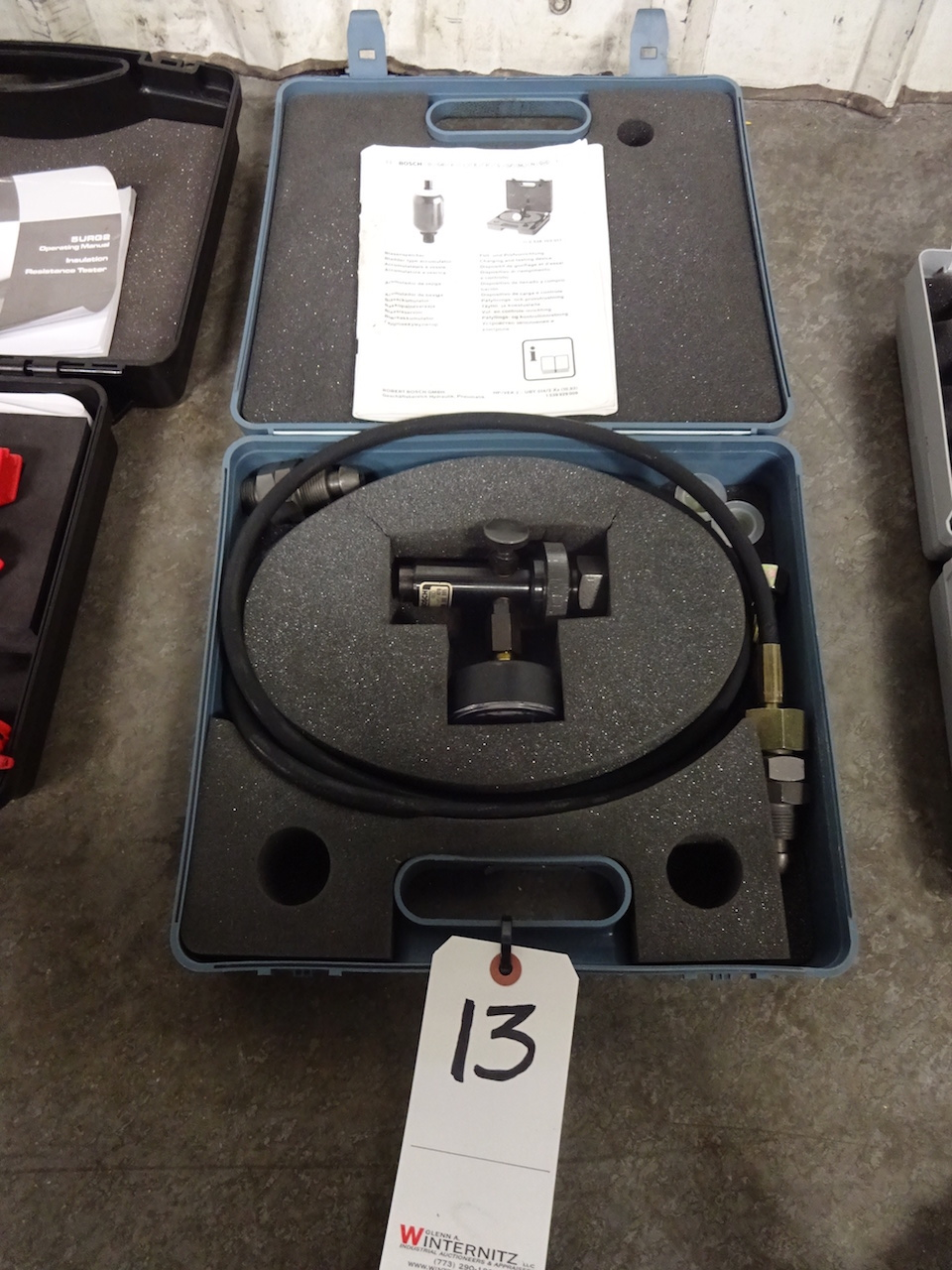 Lot 13 - Bosch Accumulator Charging & Testing Valve Kit
