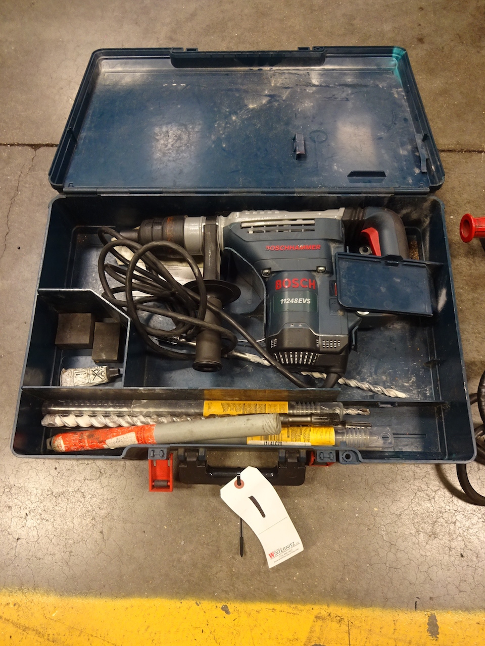Lot 1 - Bosch Model 11248EVS Boschhammer Hammer Drill, S/N 15M-019179