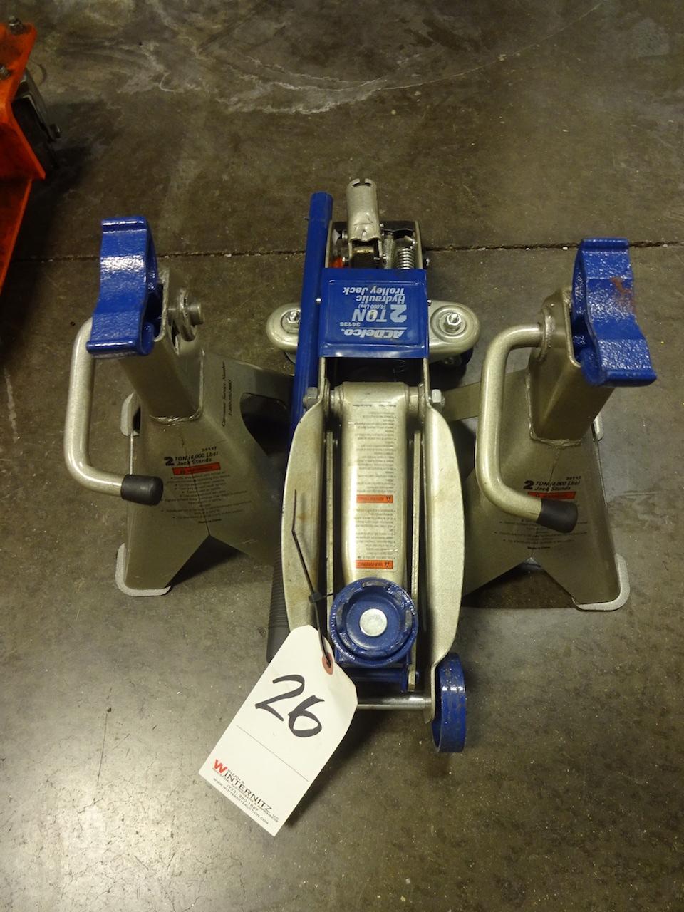 Lot 26 - AC Delco 2 Ton Model 34136 Hydraulic Trolley Jack