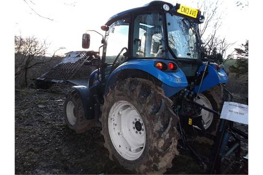 540x360 new holland t4 75 powerstar four wheel drive tractor with 10 x New Holland T4.75 Cab at edmiracle.co